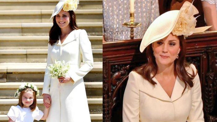 Kate Middleton di acara Pernikahan Pangeran Harry-Meghan Markle.