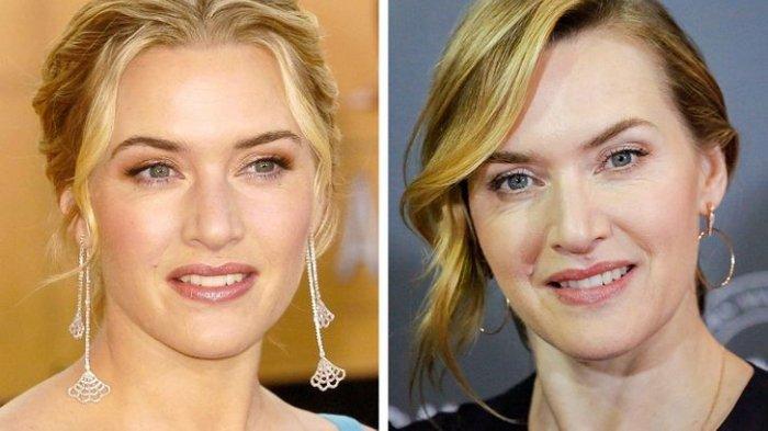 Kate Winslet Dulu dan Sekarang