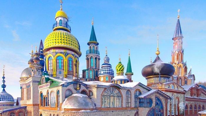 5 Fakta Tentang Kazan, Kota Mayoritas Muslim di Rusia yang Jadi Penyelenggara Piala Dunia 2018
