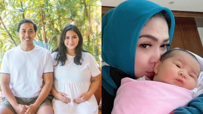 Caca Tengker Lahiran Anak Kedua, Rieta Amilia Bahagia Gendong Aruni Damani: 'Gemes Banget Ya Allah'