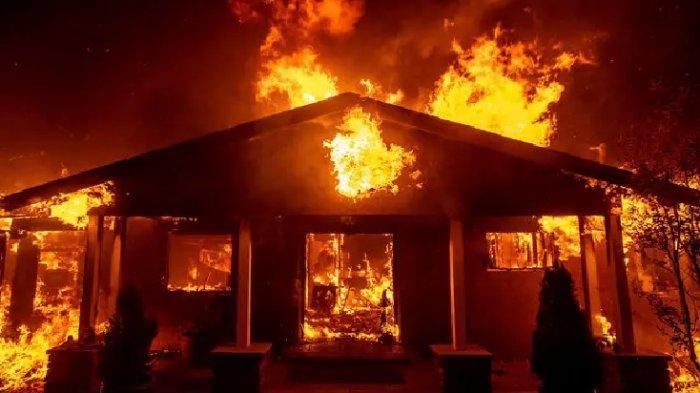 Fakta Pilu 5 Anak Tewas Terpanggang Hidup-hidup di Dalam Rumah, Mau Keluar, Pintu Sudah Dikepung Api