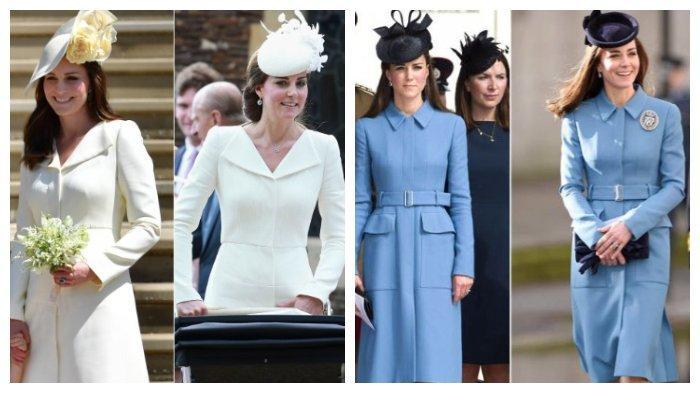Kebiasaan Kate Middleton Jadi Sorotan, Pakai Gaun yang Itu-itu Saja & Gaun Bekas di Royal Wedding