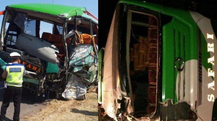 Kecelakaan di Tol Cipali 17 Juni 2019