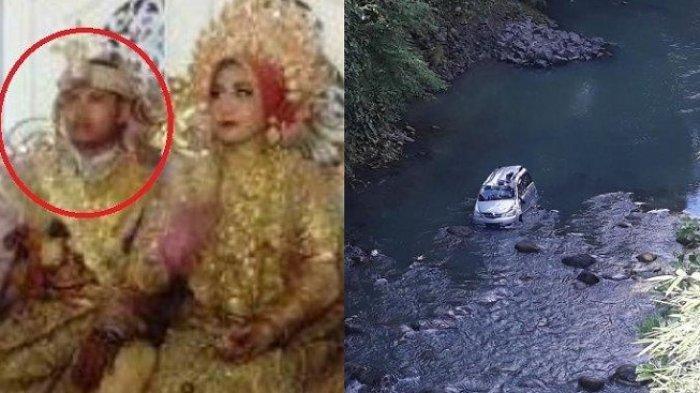 Tak Bahagia, Mempelai Pria Berurai Air Mata di Pelaminan, Dapat Kabar Mobil Ayahnya Jatuh ke Sungai