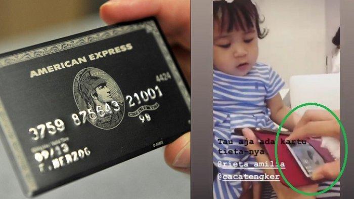 black card punya Mama Rieta sempat dibocorkan Ansraa
