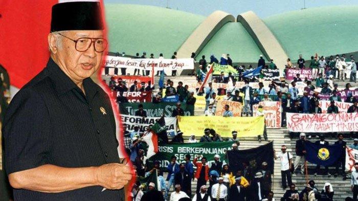 Kejatuhan Soeharto.