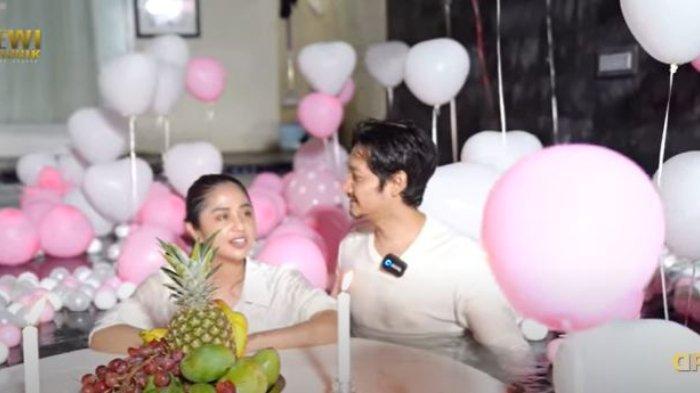 Kejutan romantis Dewi Perssik untuk Angga Wijaya berubah petaka