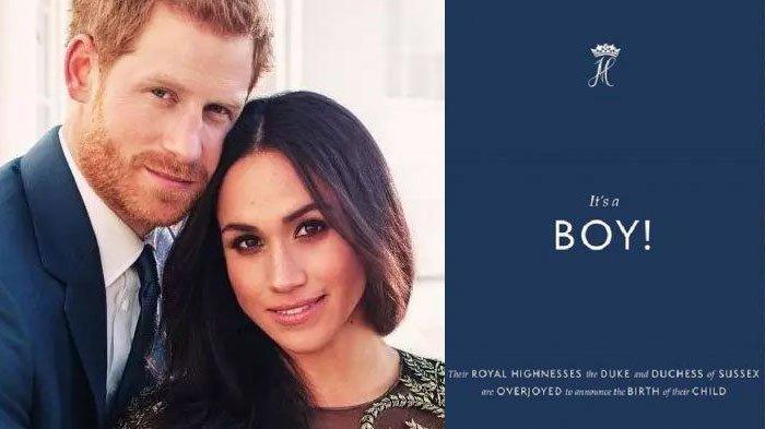 Kelahiran putra Pangeran Harry dan Meghan Markle