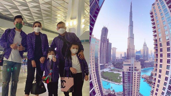 Tiba di Dubai, Ashanty Terpesona Lihat Pemandangan Gedung-gedung Tinggi, Arsy Merengek Kelaparan