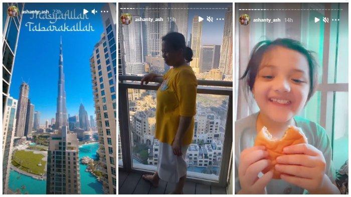 Keluarga Anang dan Ashanty tiba di Dubai.