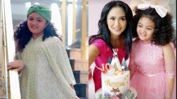Putri Krisdayanti, Amora Lemos Dapat Kiriman Kue Ulang Tahun dari Keluarga Ashanty & Anang