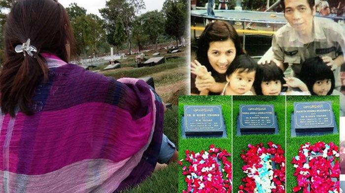 Lama Tak Terdengar, Korban Penyekapan Pulomas Zanette Kalila Kunjungi Makam Keluarga dan Menangis