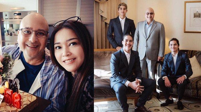 Keluarga Maia Estianty dan Irwan Mussry