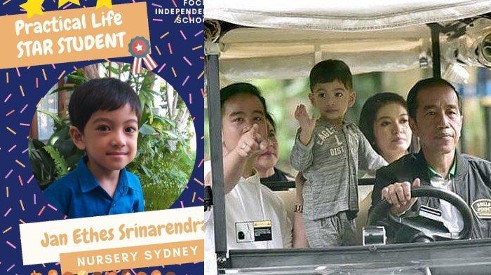 Gibran Rakabuming Ungkap Rapor Jan Ethes Raih Penghargaan, Cucu Jokowi Banjir Pujian