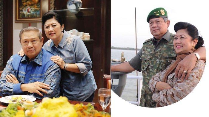 Kemesraan SBY bersama sang istri tercinta, Ani Yudhoyono