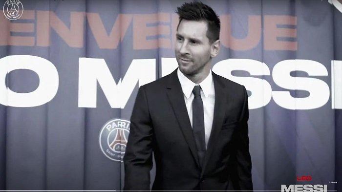 Kenang Masa Lalunya di Barcelona, Lionel Messi ke PSG Langsung Pilih Nomor Punggung 30