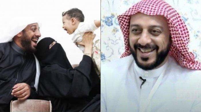 Kenangan Syekh Ali Jaber bersama istri dan anaknya.
