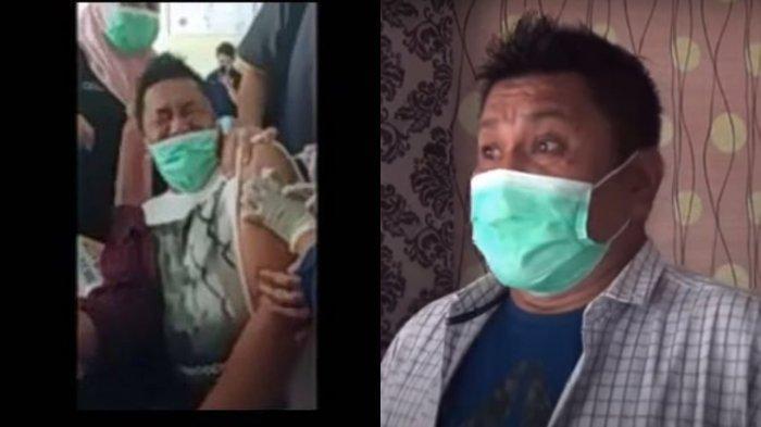 TERIAK Histeris, Kepala Puskesmas Bone Meronta Ketakutan Saat Disuntik Vaksin, Ternyata Fobia Jarum