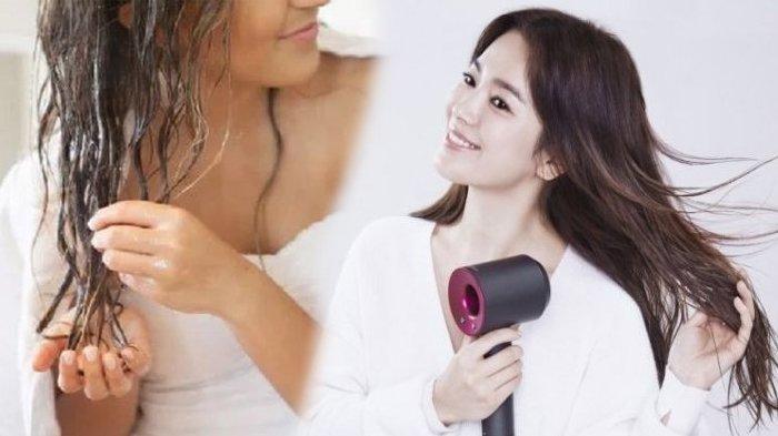 Mengeringkan Rambut Secara Alami Lebih Bahaya Dibanding Pakai Hair Dryer, Simak Penjelasannya