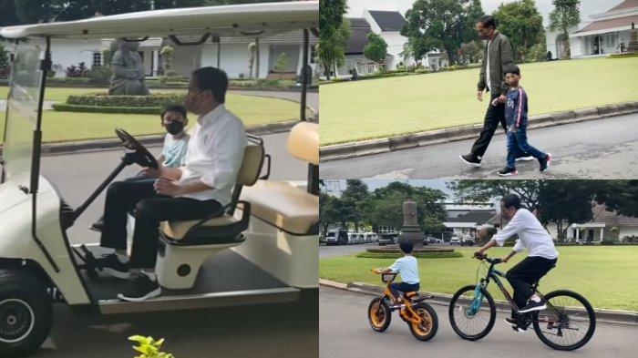 LEPAS KANGEN, Inilah Keseruan Jokowi Bareng Jan Ethes: Rasanya Baru Kemarin Saya Timang-timang