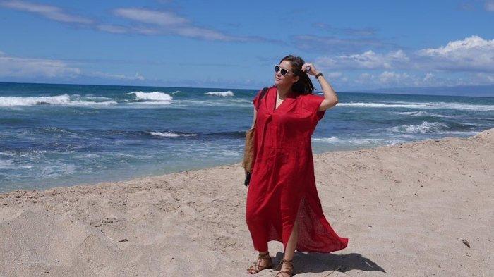 Keseruan Maia Estianty dan Irwan Mussry liburan di Amerika.