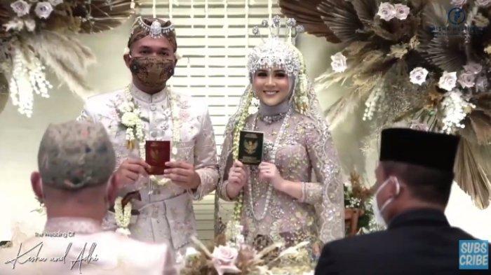 Bagaimana Momen Pernikahan Kesha Ratuliu dan Adhi Permana? Intip Foto-foto Akad hingga Sungkeman
