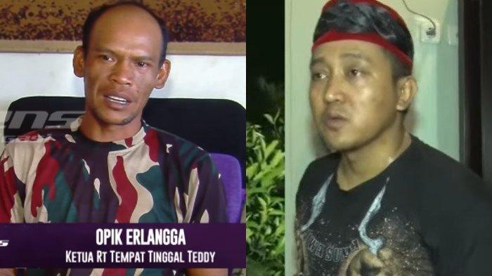 Ketua RT sebut Teddy Pardiyana sudah menikah lagi (YouTube Intens Investigasi/ TRANS TV Official)
