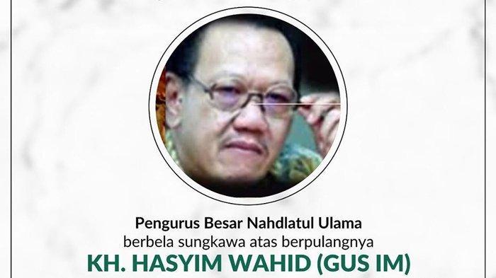Profil KH Abdul Hasyim Wahid alias Gus Im, Adik Gus Dur yang juga Tokoh NU dan Suka Musik Klasik