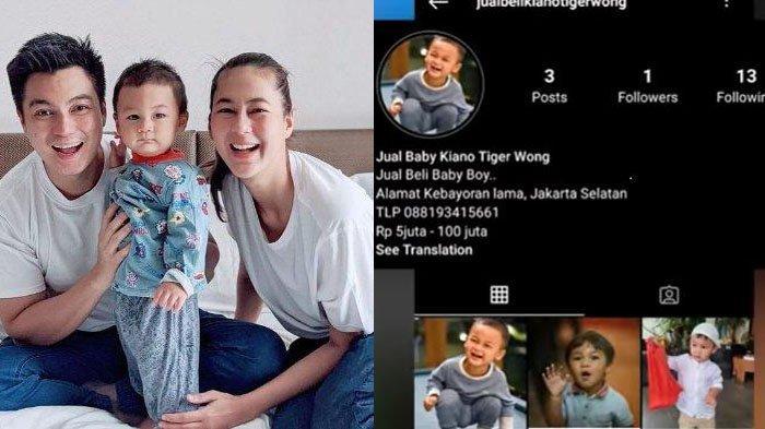 Syok Lihat Kiano 'Dijual' Rp 100 Juta di IG, Karyawan Baim Wong Langsung Gercep Lakukan Hal Ini