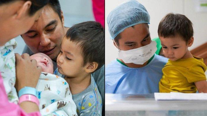 Sambut Kelahiran Baby Kenzo, Kiano Girang Pertama Kali Lihat Sang Adik, Baim Wong: Dia Pengen Pegang