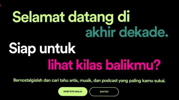 Cara Mudah Membuat Kilas Balik 2019 Spotify, Cek Lagu Apa yang Sering Kamu Dengarkan dalam Setahun