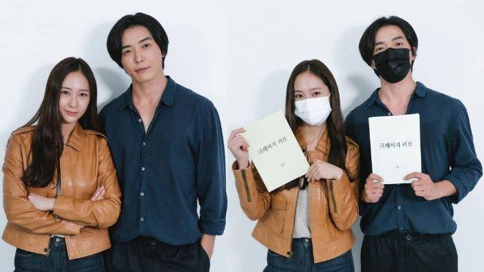 Krsytal f(x) dan Kim Jae Wook akan membintangi drama Korea Crazy Love