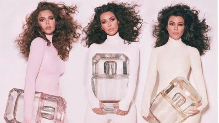 Kim Kardashian Rilis Parfum 'KKW' Bersama Kourtney & Khloe Kardashian, Intip Desain Hingga Aroma