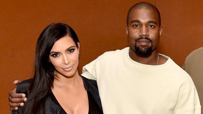 Kim Kardhasian dan Kanye West.