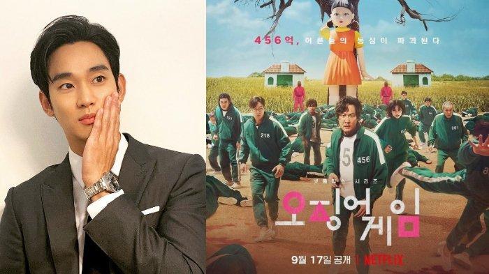 Apa Jadinya Jika Kim Soo Hyun Ikut Main Drama Korea Squid Game? Lihat Aksi Kocaknya di Sini!