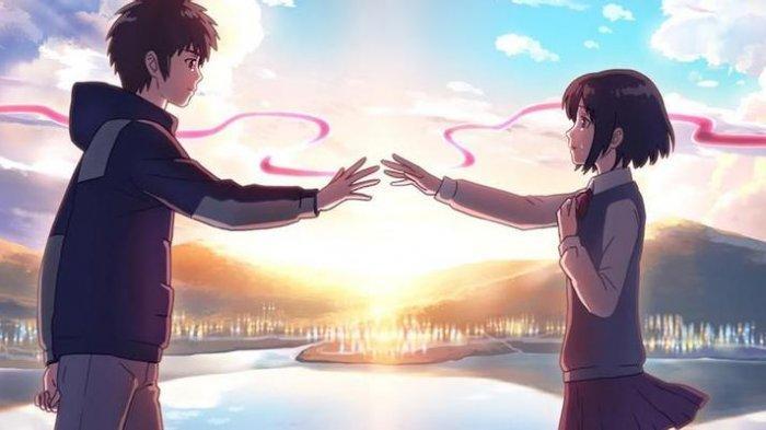 15 Kutipan Romantis Anime Kimi no Na wa yang Menyentuh Hati, dari Mitsuha, Taki, hingga Hitoha
