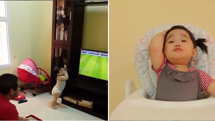 Lucu! Ini Reaksi Bayi Menggemaskan Saat Arsenal Kebobolan, Pusing Tujuh Keliling!