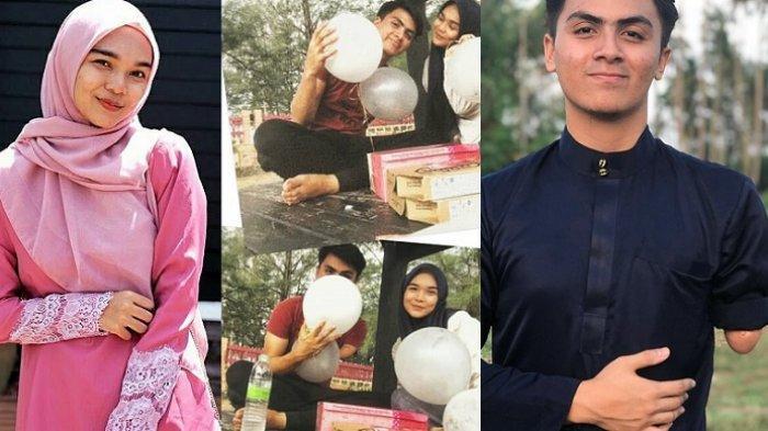 Viral Video Gadis Cantik Rayakan Ulang Tahun Kekasihya, 'Maaf Sudah 19 Tahun Aku Tak Ada Tangan'