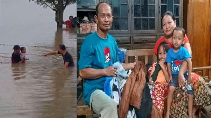 Kaleidoskop Maret 2019, Teriakan Satu Keluarga Nyaris Putus Asa Terjebak Banjir di Ruas Tol Ngawi