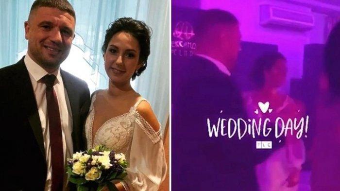 Kisah pengantin wanita menjanda di hari pernikahannya, sang suami tewas ditembak tamu