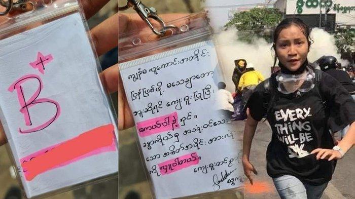 Kisah Tragis Kyal Sin, Tinggalkan Pesan Donor Organ Tubuh Sebelum Tewas Tertembak saat Demo Myanmar