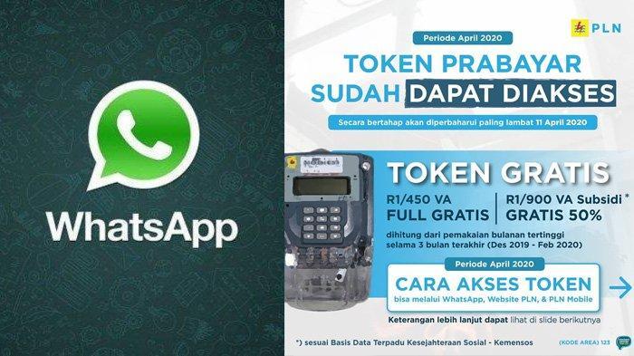 BESOK Token Listrik Gratis Sudah Bisa Diklaim via WhatsApp, Jangan Lupa Siapkan ID Pelangganmu
