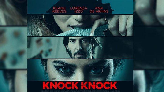 Poster film Knock Knock.