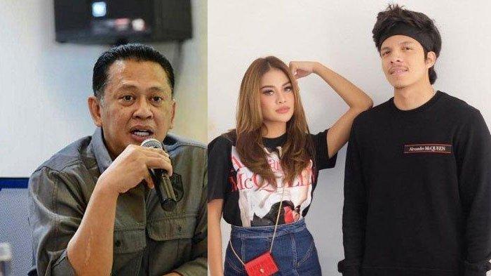 Jadi Saksi Pernikahan Atta Halilintar & Aurel, Ketua MPR Bambang Soesatyo: 'Jangan Kelamaan Pacaran'