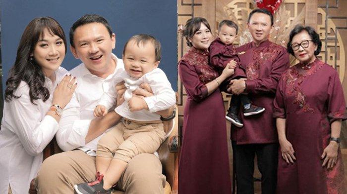 Niat Hati Ingin Foto Imlek Bersama Keluarga, Perut Puput Istri Ahok Justru Bikin Salfok, Hamil Lagi?