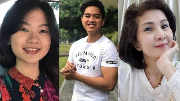 Kolase Felicia Tissue, Kaesang Pangarep dan Meilia Lau.