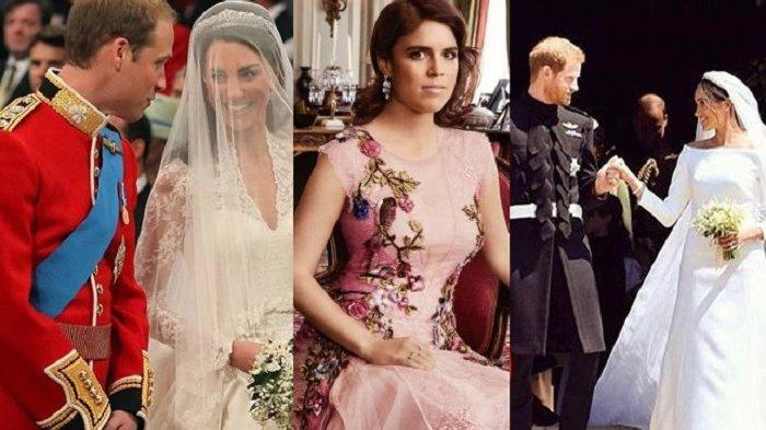 Tak Seperti Kate & Meghan Markle, Ini Alasan Putri Eugenie Tak Pakai Tudung Kepala di Pernikahannya