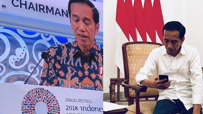 Video & Bunyi Pidato Jokowi di IMF yang Buat Game of Thrones Trending, Netter Ramai Komentari