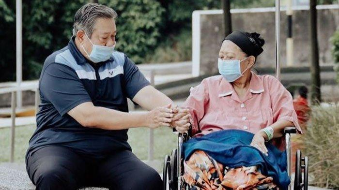 Kondisi Kesehatan Ani Yudhoyono Memburuk, Tagar #DoaUntukBuAni Trending Topic, Warganet Ramai Berdoa