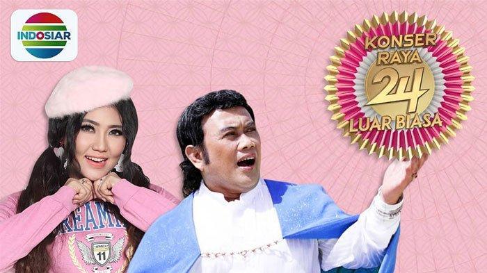Live Streaming Konser Raya 24 Tahun Indosiar Jam 19.00 WIB 11 Januari 2019, Rundown & Daftar Artis